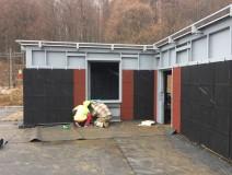 Building of CQB Shooting house